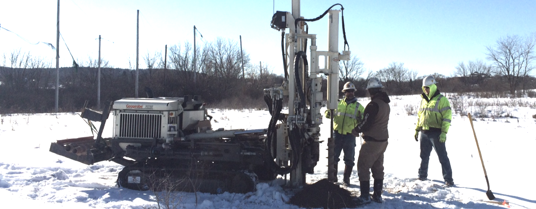 Kenney Geotechnical services specializes in subsurface investigations, drilling, seismic evaluation, test borings, blast testing, design/build geotechnical construction, soil testing, construction materials testing, concrete testing, compressive strength testing, pile testing, geotechnical reports, in Syracuse, Rochester, Buffalo, Albany, Binghamton, Oneonta, Catskills, North Country, Watertown, Elmira, Corning, Jamestown, Batavia, Oswego and Upstate NY